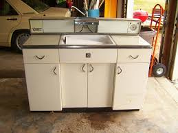 Old Metal Kitchen Cabinets Retro Metal Kitchen Cabinets Home Design