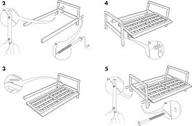 Ikea Instruction Manuals Ikea Chairs Lillberg Sofa Frame Pdf Assembly Instruction Free