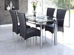 luxury small glass dining table and chairs 24 mini round vo1 ice for glamorous round glass top