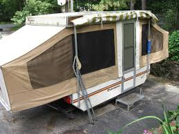 new diy guide to make your own pop up camper awning on cd new wonderful conway challenger folding campertrailer tent spares or repairs