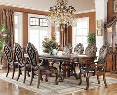 checkout the acalanes ridge 118 brown cherry extendable 9 pc traditional dining tablesformal dining tablesdining table chairsdining room