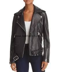 jackets in black aqua retro oversized leather moto jacket xh69327