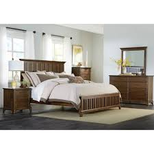 Concord Bedroom - Bed, Dresser & Mirror - CONCORD3PCQNBR