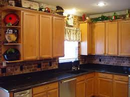 Kitchen With No Upper Cabinets Tag For Design Ideas For Space Above Kitchen Cabinets Nanilumi