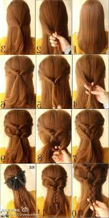 gallery of beautiful easy hairstyles for long hair step by step 38 inspiration with easy hairstyles for long hair step by step