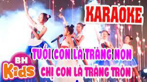 Karaoke] Tuổi Của Trăng - Nhạc Thiếu Nhi Karaoke - Tuyển tập nhạc thiếu nhi  hay. - #1 Xem lời bài hát