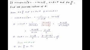 find the general solution of the given infinite trigonometric series