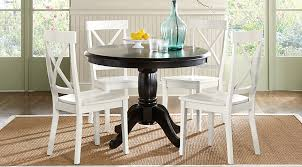 charming ideas black and white dining chairs 38