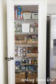 organized pantry with labels