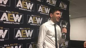 Tnt Tony Tony Khan Comments On The Aew Tnt Relationship Wrestling