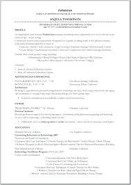 Esthetician Resume No Experience 47 Inspirational Sample