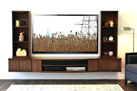 floating wall tv stand large size of stands and entertainment black mounted with shelves unit high floating wall tv stand