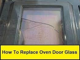 how to replace oven door glass