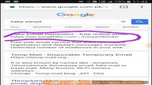 Fake Email Youtube Generator -