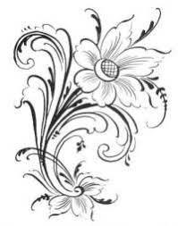 Rosemaling Patterns
