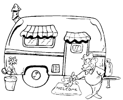 16 Best Of Camper Trailer Coloring Pages Pexels Photo