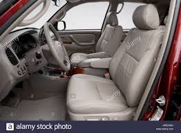2006 Toyota Tundra Limited in Red - Front seats Stock Photo ...