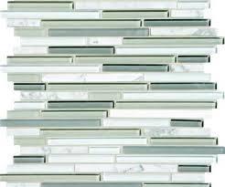 glass and stone backsplash menards mosaic tile