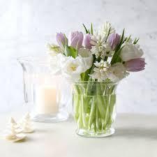 gl fluted hurricane vase