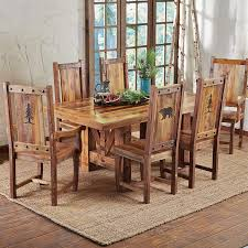 other distressed dining room chairs imposing on other and rectangular square reclaimed wood table farmhouse set