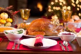 thanksgiving turkey dinner table. Exellent Dinner Turkey Dinner With All The Trimmings  Thanksgivingcom To Thanksgiving Dinner Table