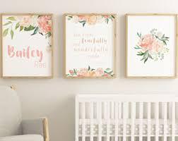 Baby Girl Boho Nursery, Christian Nursery for Baby Girl, Nursery Wall Art  Printable,