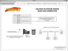 wiring racepak iq3 can connector rx7club com wiring racepak iq3 can connector