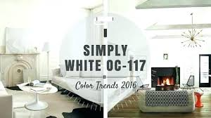 Benjamin Moore Simply White Simply White Category White Simply White ...