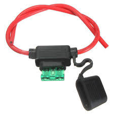 30a mini blade car audio and video fuses & holders for sale ebay Mini Fuse Tap at 30a Mini Blade Fuse Box