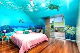 sea themed bedroom.  Bedroom Ocean Themed Bedroom Underwater Ideas Under The Sea Room  Decor Plain Best About On Life  Throughout M