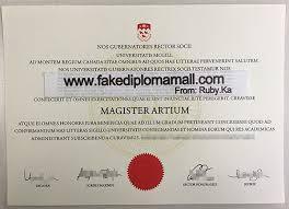 Sample Degree Certificates Of Universities Sample Of Mcgill University Fake Degree Certificate Buy