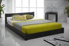 Bedroom Flat Platform Bed Frame Single Wooden Bed Frame Standard Bed ...