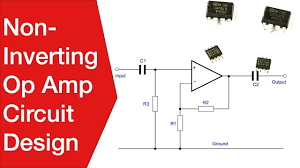 Single Supply Op Amp Design Non Inverting Operational Amplifier Circuit Electronics Notes