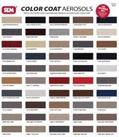 79 Qualified Sem Classic Coat Color Chart