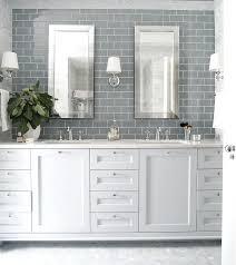 bathroom subway tiles. Gray Subway Tile Backsplash Best Bathroom White Kitchen Cabinets With . Tiles