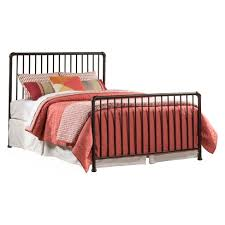 Brandi Metal Bed Set Full Bed Frame Included Oiled Bronze ...