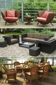 Outdoor furniture ideas Wood 1001 Gardens Wicker Patio Furniture Ideas Trend 2018 1001 Gardens