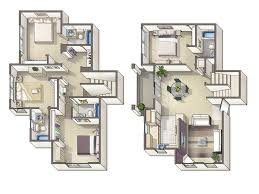 4 Bedroom Townhouse Floor Plans  Google Search  Floor Plans 4 Bedroom Townhouse Floor Plans