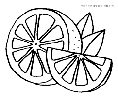 Small Picture Lemon fruit color page Fruits coloring pages color plate