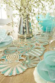 Blue Lace Table Runner Uk