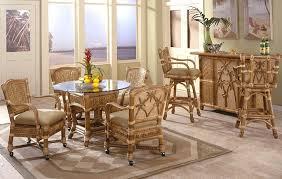 sunroom furniture set. bamboo dining furniture sunroom set