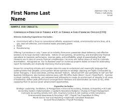 Cfo Resume Template New Financial Executive Resume Private Senior Finance Manager Resume