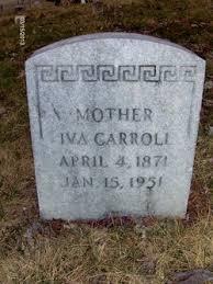 Iva Eliza Varner Carroll (1871-1951) - Find A Grave Memorial