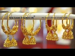 gold hoop earrings designs with weight latest hoop earrings designs in lightweight for daily use