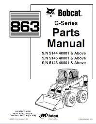 bobcat 863 g series skid steer loader parts manual pdf, spare Bobcat Hydraulic Steering Diagram spare parts catalog bobcat 863 g series skid steer loader parts manual pdf Bobcat 753 Hydraulic Leak