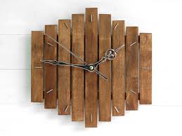 Moose Kitchen Decor Rustic Wall Clock Etsy