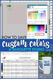 Create custom hex color codes using hex color picker tool. Saving Custom And Hex Colors In Silhouette Studio Free Silhouette Studio Template Silhouette School