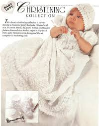 Free Crochet Christening Gown Patterns Custom Design Ideas