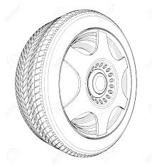 tires clipart black and white. On Tires Clipart Black And White