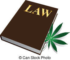 law on the legalization of cans plant book vector ilration